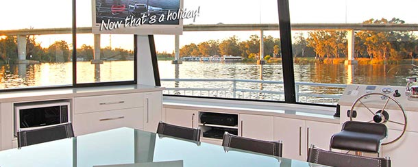 Welcome to All Seasons Houseboats at the Mildura Marina