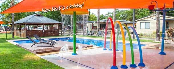 Welcome to the All Seasons Holiday Park, Mildura