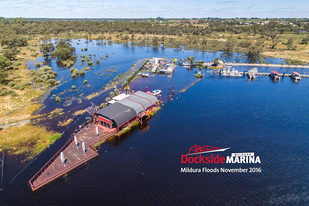 Mildura Dockside Marina and Cafe History