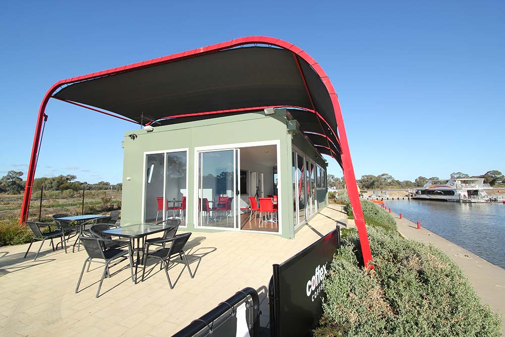 Mildura Dockside Marina June 2011