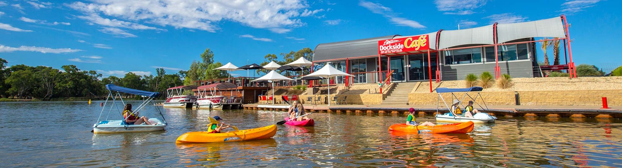 Mildura Dockside Marina watertoys