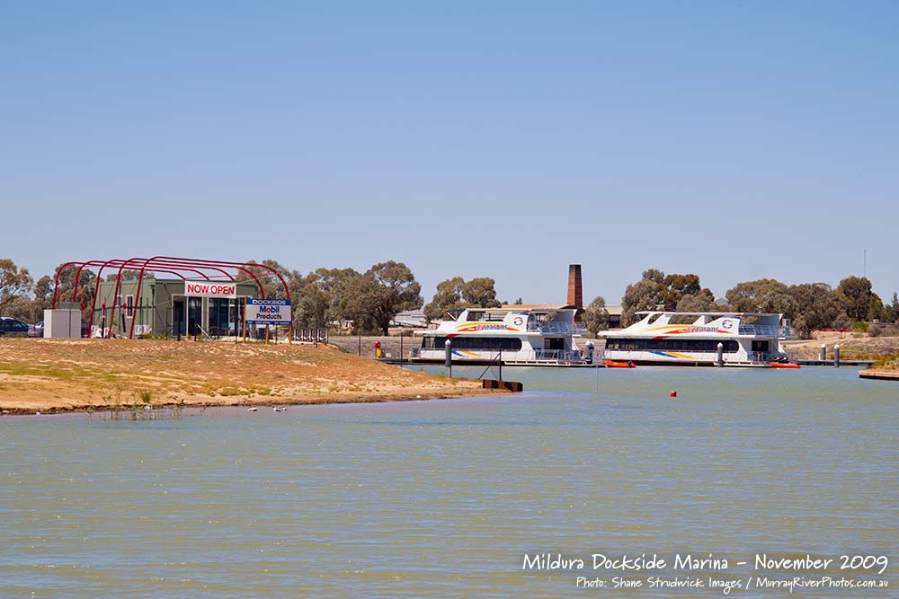 Mildura Dockside Marina November 2009